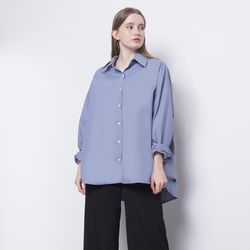 W212 cotton over blouse sky