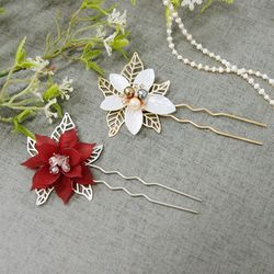 꽃잎받침 비녀