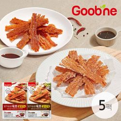 굽네 시그니처 소스 사용 닭가슴살 육포 2종 5팩