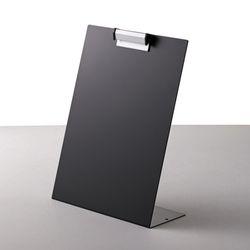 블랙 철재 메뉴판 클립보드 스탠드 게시판 POP꽂이