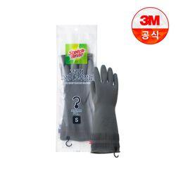 [3M]고리형 그레이 고무장갑 소