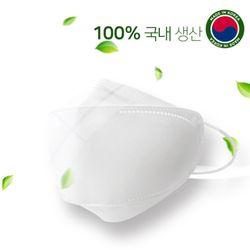 국내생산 일회용 3중 MB필터 입체형 마스크 (중형) 50매