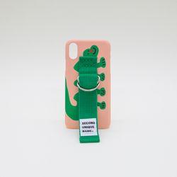 SUN CASE PEACH PINK GREEN (ILLUST)