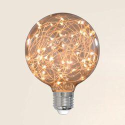 더쎈 LED 에디슨 x95 LED 3w 은하수 램프 전구색