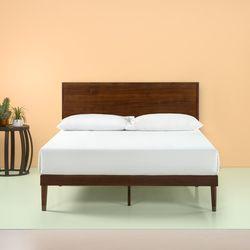 미드 센츄리 침대 프레임 (라지킹)