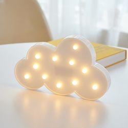 LED 구름 클라우드 무드등 인테리어 조명