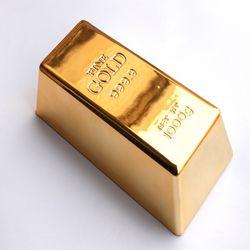 데코 리얼사이즈 골드바 금괴 금 모형 인테리어 선물