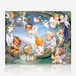 아기천사들 DIY 보석십자수 십자수 비즈세트