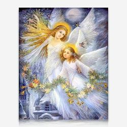 두 천사 DIY 보석십자수 십자수 비즈세트