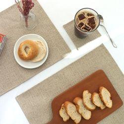 [Kitchen] 내추럴 캔버스 테이블 매트