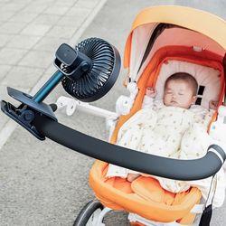 USB충전식 크레모아선풍기 유모차선풍기