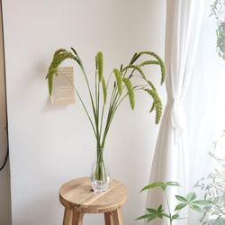 조 생화 인테리어 잎가지