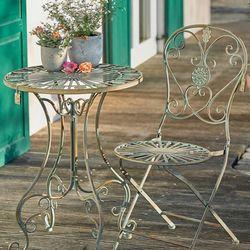 야외테이블세트 빈티지 의자 테이블