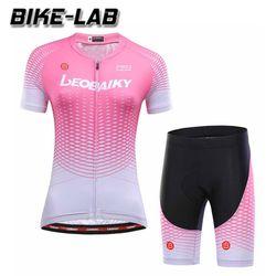 [BIKELAB]여성 반팔 자전거의류 상하세트 LBFS19-05