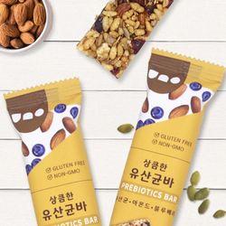 [우노] 유산균 견과바 1박스 (15봉)