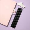 흑목육각미두연필 2B