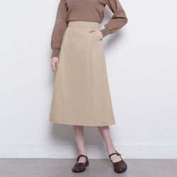 W31 gate skirt beige