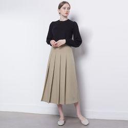 W08 logue skirt beige