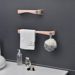 비진 커브드라인 벽부착 수건걸이 대형+소형 세트