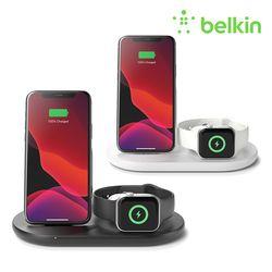 벨킨 3 in 1 아이폰 + 애플워치 + 에어팟 무선 충전기 WIZ001kr