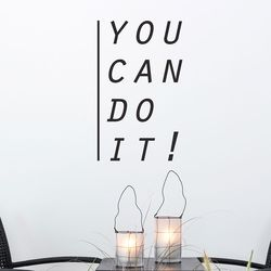 you can do it  할수있다  레터링 인테리어 스티커 small