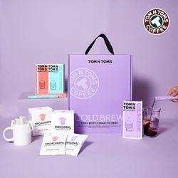탐앤탐스 콜드브루&핸드드립 커피 선물세트