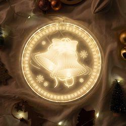크리스마스 아크릴 무드등 인테리어조명
