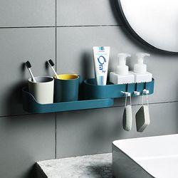 욕실코너선반 물빠짐 욕실수납선반 각도조절 후크선반