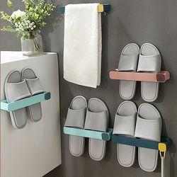슬리퍼 욕실화 신발정리대 스마트 틈새홀더 4개 1SET
