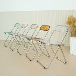 도노 플리아 체어 투명 접이식 의자