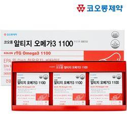 코오롱 알티지 오메가3 1100EPA+DHA 180캡슐 (3개월분)
