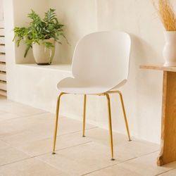 가구느낌 쉘골드체어 인테리어 식탁의자