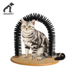 misopet 미소펫 고양이 그루밍 브러시 아치 셀프브러