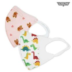 [KC인증/무료배송] 아기와나 3D입체 유아 어린이 마스크(와이어) 40매