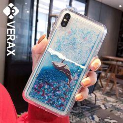 아이폰6S플러스 썸머 아쿠아 글리터 젤리 케이스 P521