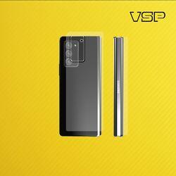 갤럭시 Z 폴드2 5G 옐로우 카본 스킨+렌즈필름 각2매