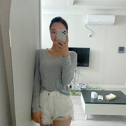 찰랑 uv 티셔츠_영선