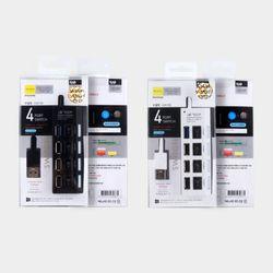 4포트 USB 3.0 2.0 스위치 허브 (U32-02)