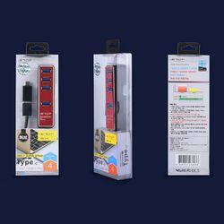고속전송 USB 3.1 4포트 허브 T3-09(C젠더 )