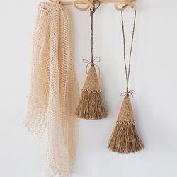 라탄 Broom 장식 소품