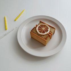 포홈 모던무광 접시8호 플레이트 (4color)