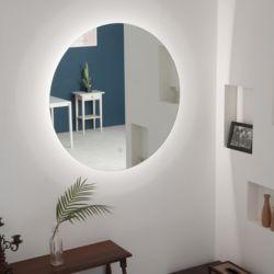 다빛 LED 원형 거울 30W