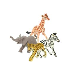 아기 아프리카 동물피규어 4종(238529271829268529271629)