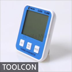 [TOOLCON] 툴콘 디지털 온습도계 TC-200B