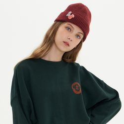 COIN LOGO SWEATSHIRT GREEN