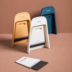 파스텔 미니 빗자루 쓰레받기세트 먼지솔+EVA솔 3color