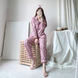 올두잇 파스텔 스트라이프 잠옷