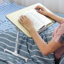 침대책상테이블 노트북거치대 접이식좌식테이블