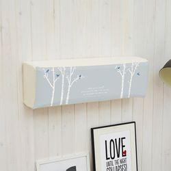 벽걸이형 에어컨커버 블루드림 LG휘센원룸형