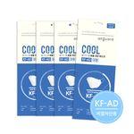 올가드 쿨 KF-AD 3D입체 마스크 50매 대형 화이트 개별포장